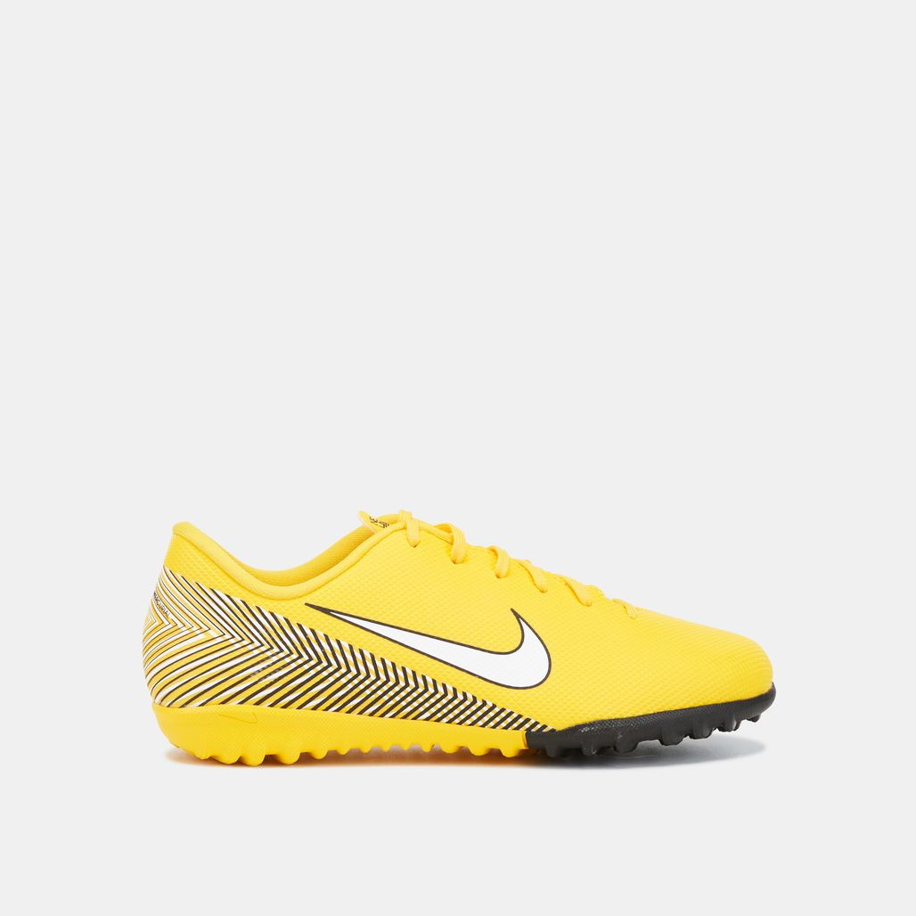 Nike Kids' Mercurial VaporX 12 Academy Turf Ground Football Shoe (Younger Kids)