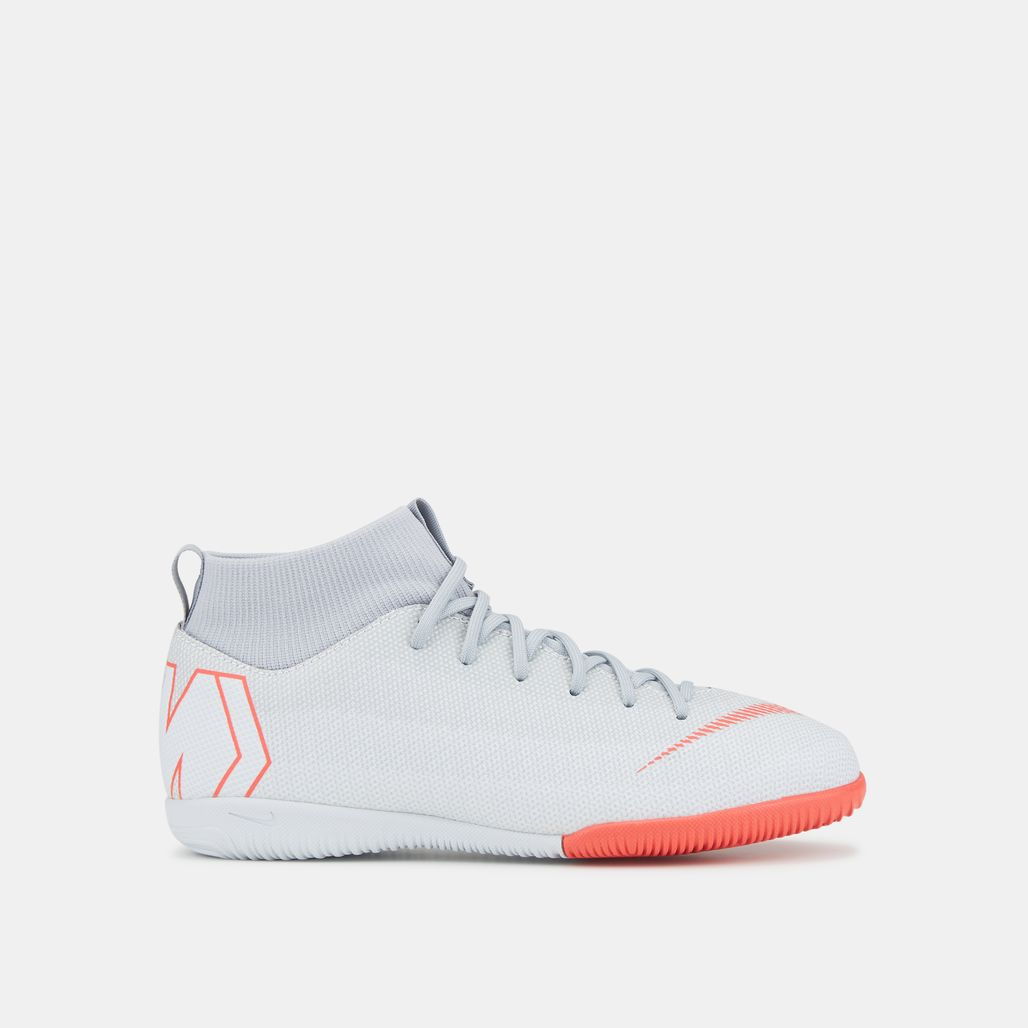 Nike Kids' MercurialX Superfly VI Academy Indoor/Court Football Shoe (Older Kids)