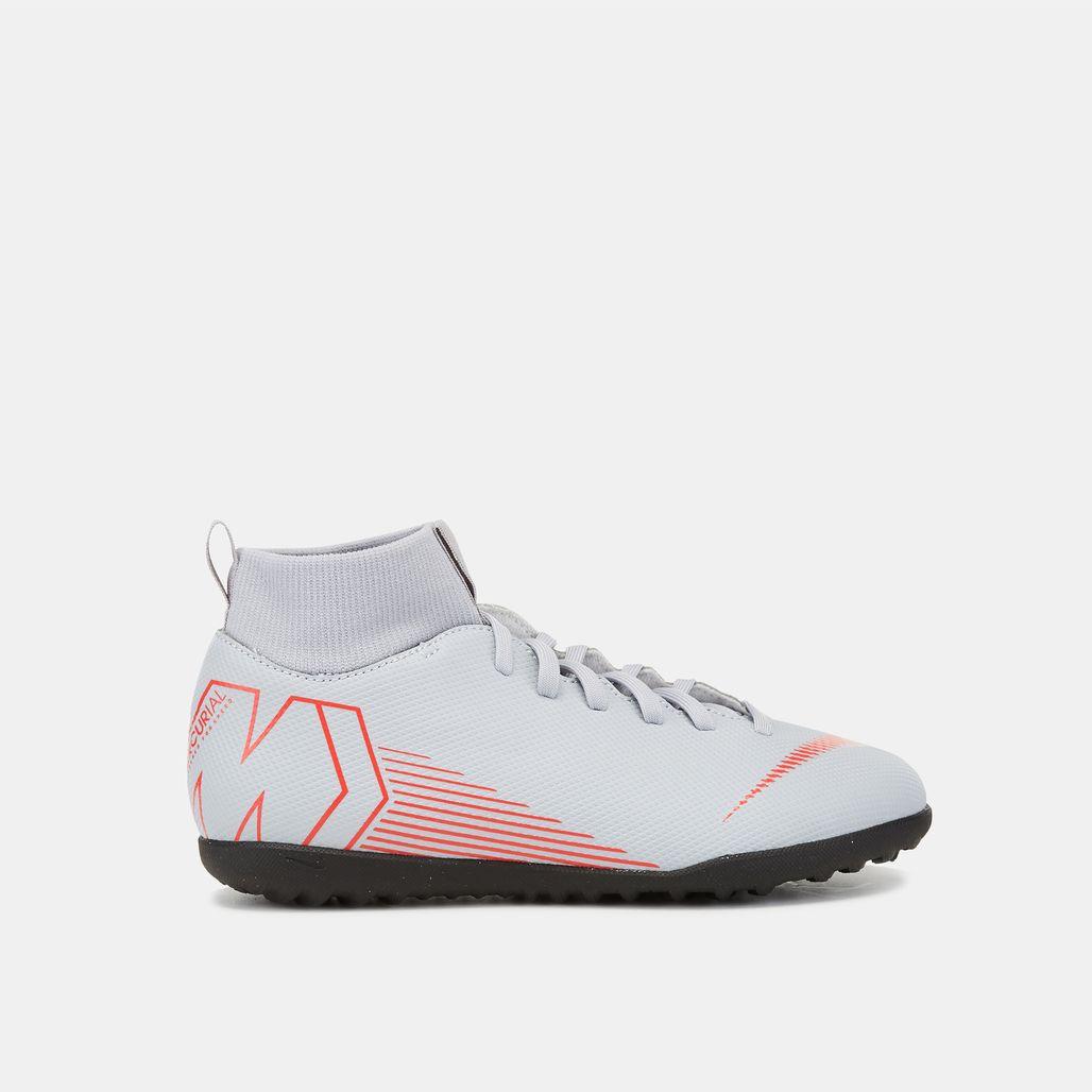 Nike Kids' Mercurial SuperflyX VI Club Turf Football Shoe