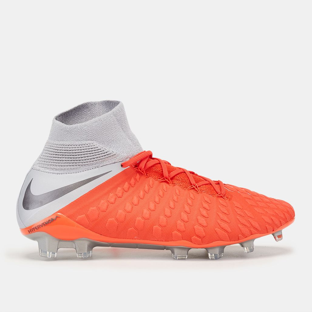 Nike Hypervenom III Elite DF Firm Ground Football Shoe