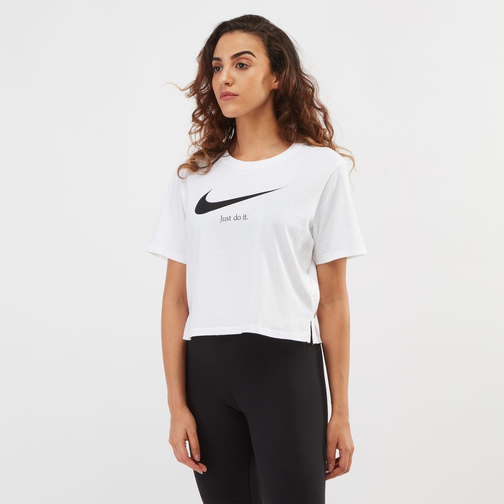 Nike Just Do It Crop T-Shirt
