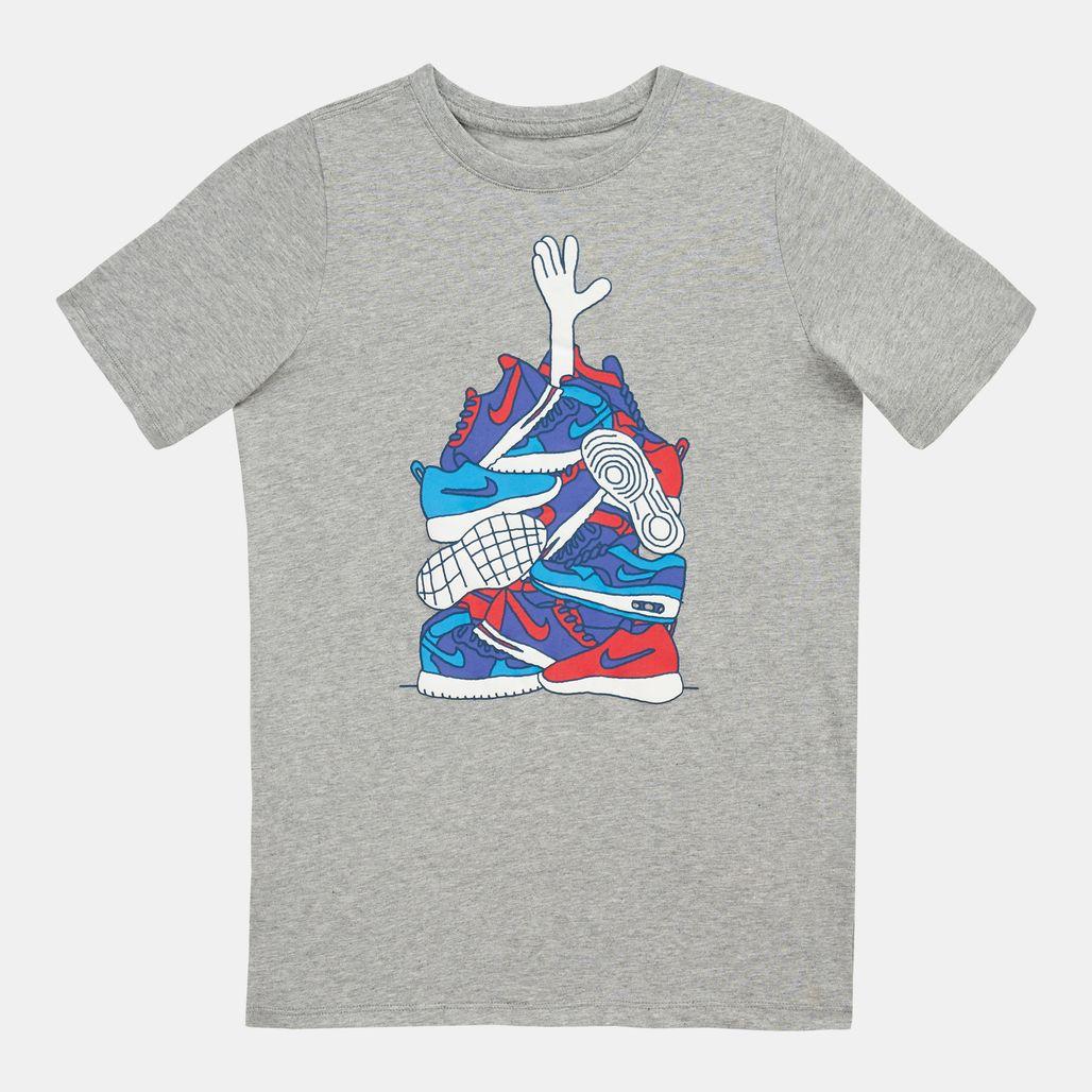 Nike Kids' Sportswear Sneaker Pile T-Shirt