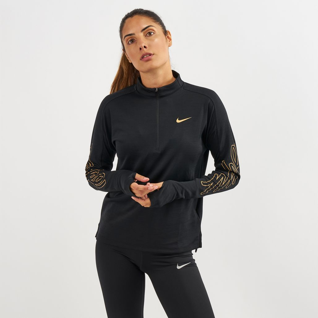 Nike Pacer Half Zip Long Sleeve Top