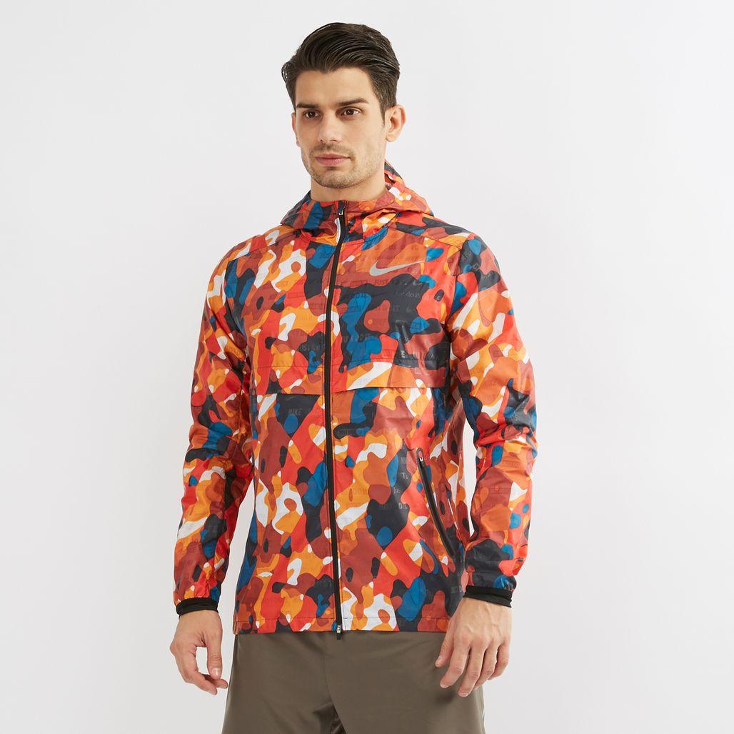 Nike Shield Ghost Flash Running Jacket | Track Jackets ...