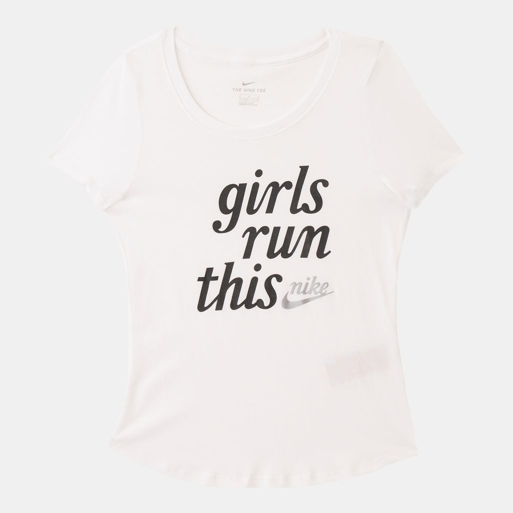 Nike Kids' Sportswear Run This T-Shirt (Older Kids)