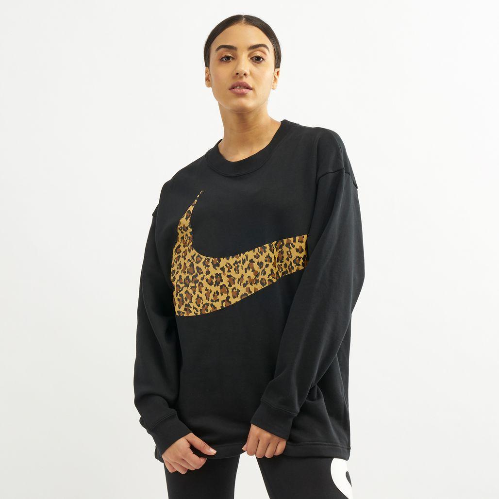 Nike Women's Sportswear Oversized Animal Sweatshirt