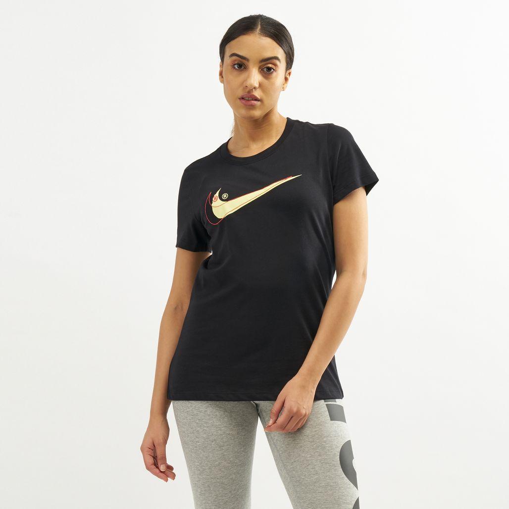 Nike Women's Sportswear Double Swoosh T-Shirt