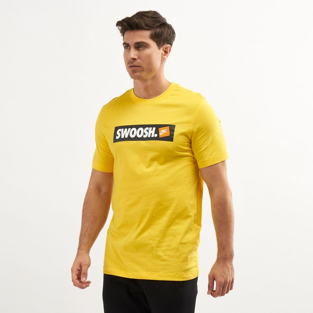 Nike Men's Swoosh Box Logo T-Shirt