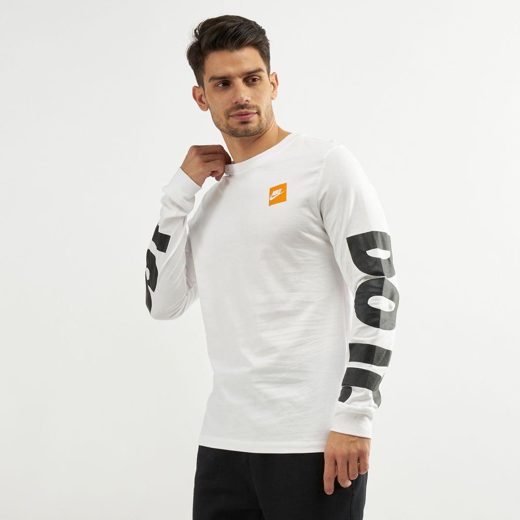 Nike Men's Sportswear Long Sleeve HBR T-Shirt