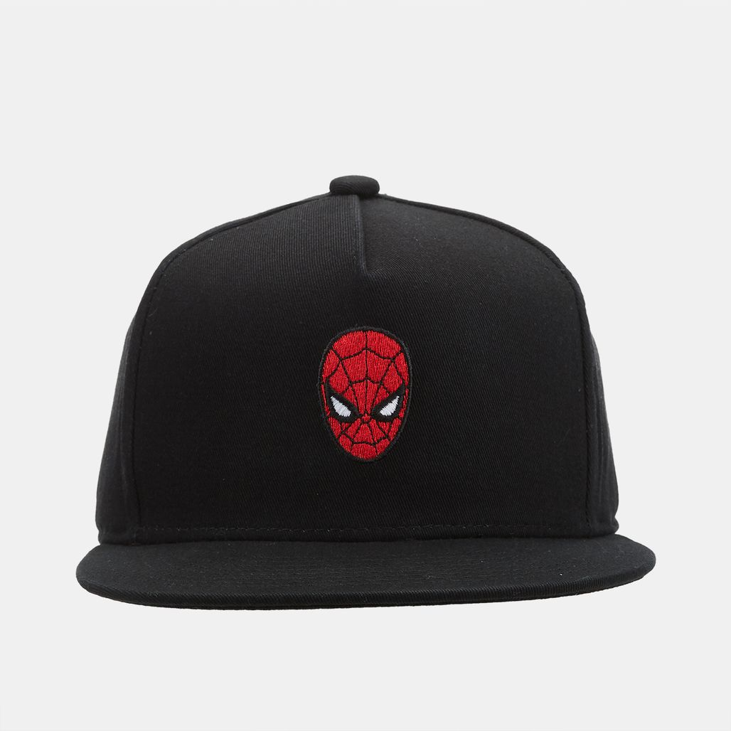 Vans Kids' x Marvel Snapback Cap - Black