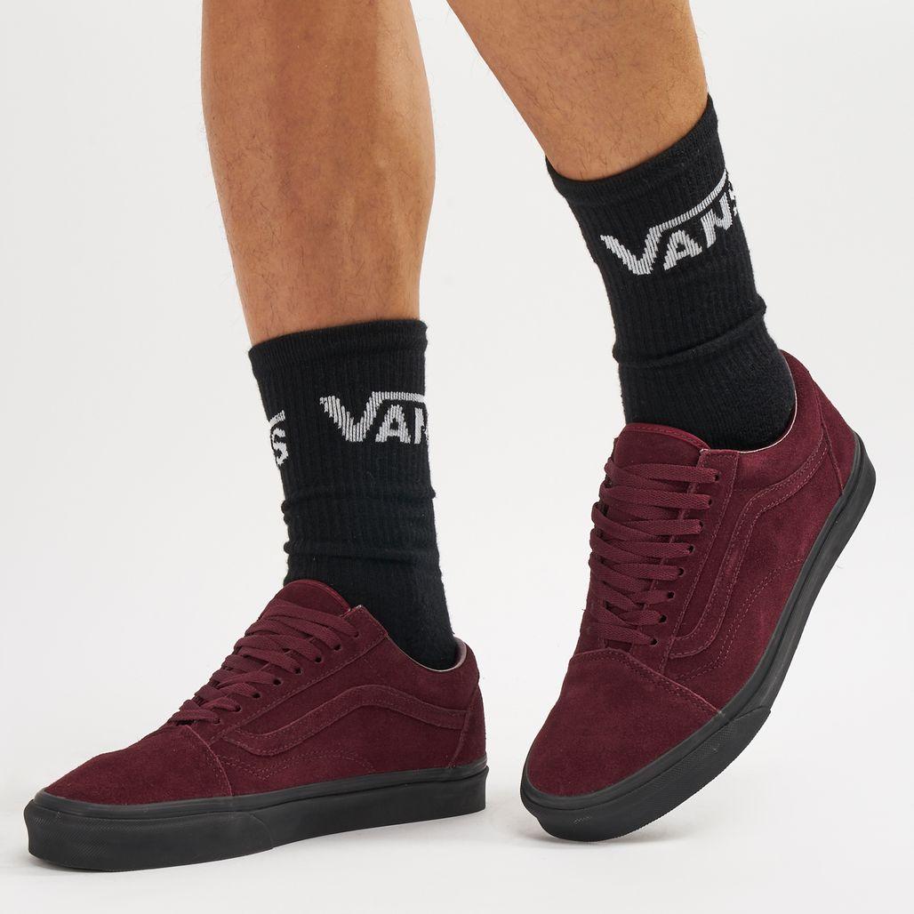 حذاء أولد سكول من فانس - أحمر
