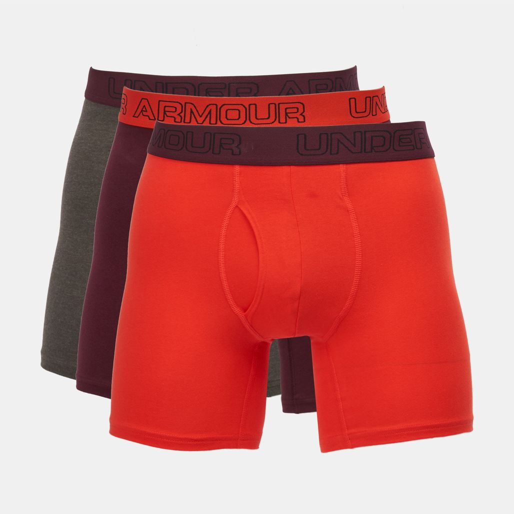 Under Armour Charged Cotton Stretch 6 Boxerjock (3 Pack)