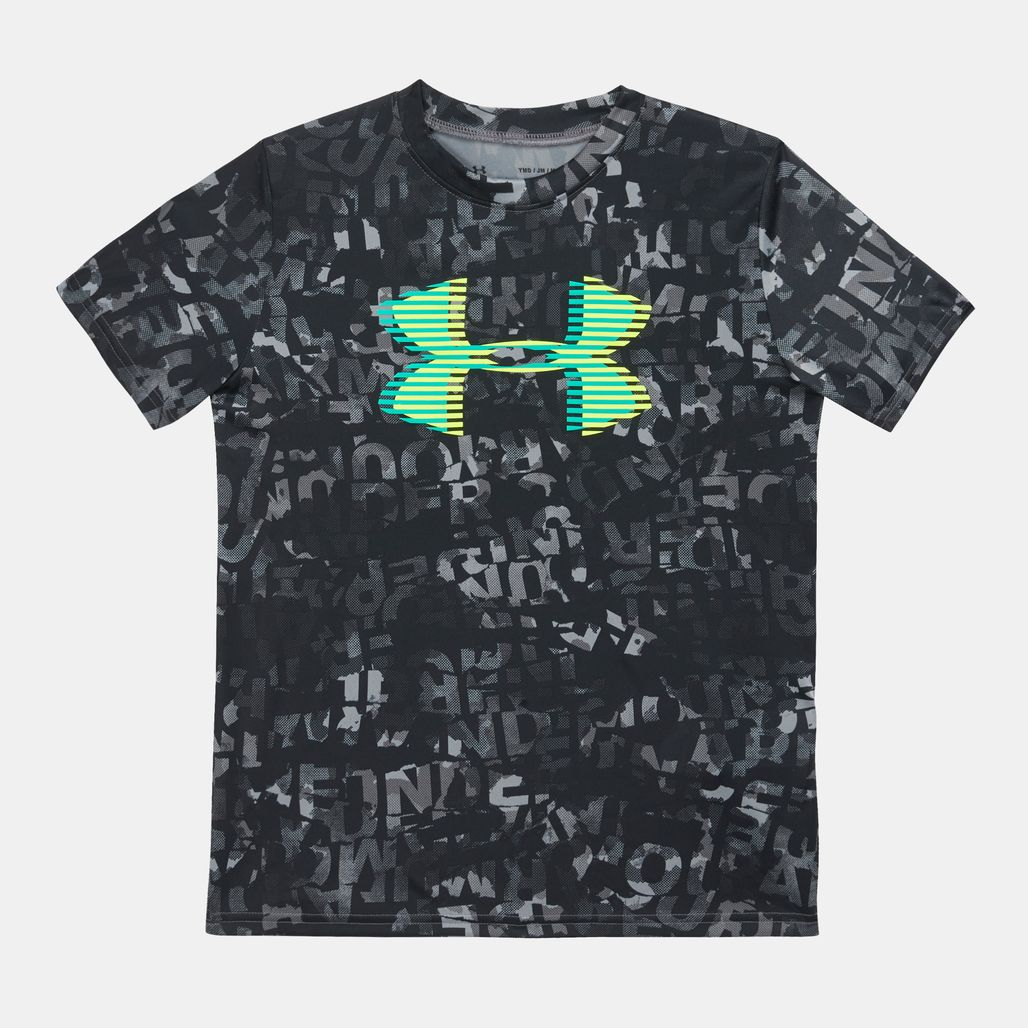 Under Kids' Armour Tech Big Logo Printed T-Shirt