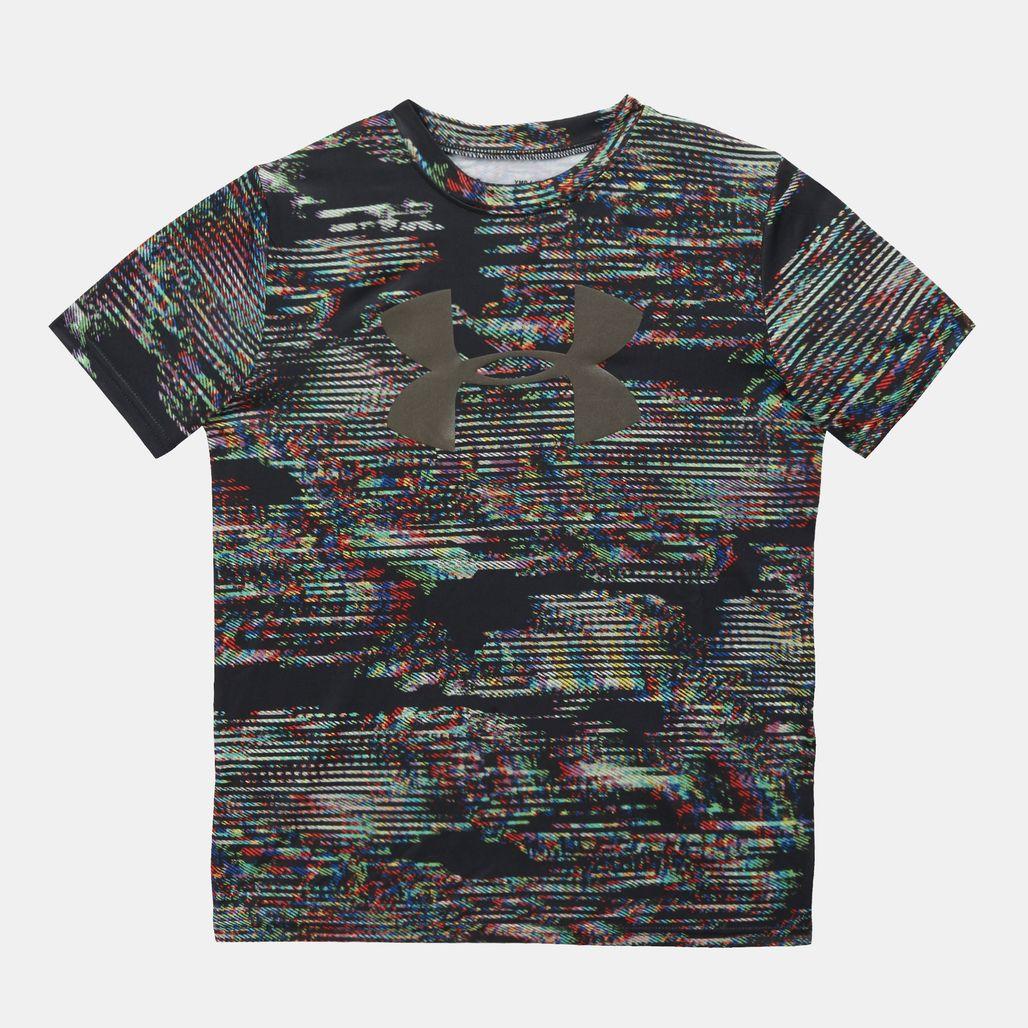 Under Kids' Armour Tech Big Logo Printed T-Shirt