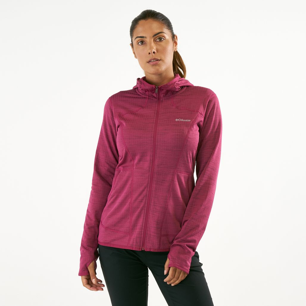 Columbia Women's Feather Brush Full Zip Fleece Jacket