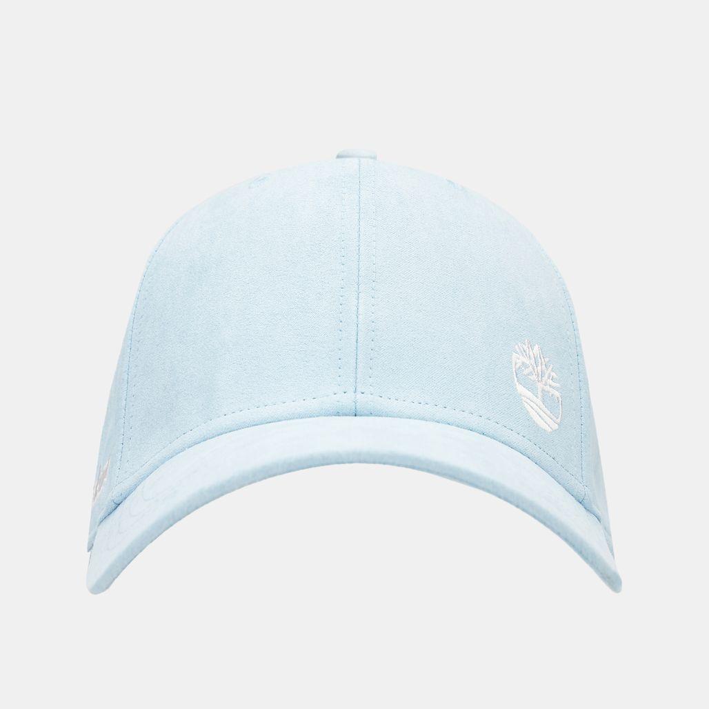 Timberland Women's Micro Suede Baseball Cap - Grey