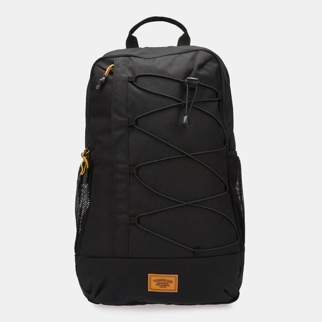Timberland 23-Liter Water Resistant Bungee Backpack - Black