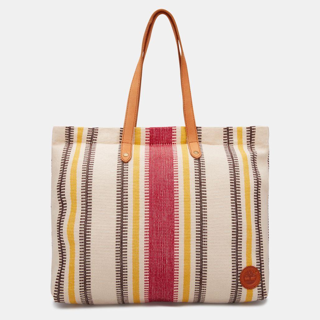 حقيبة تسوق من تمبرلاند للنساء - أحمر