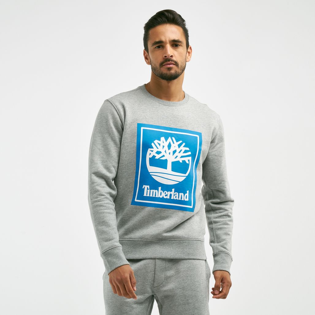 Timberland Men's YCC Crew Stacked Logo Sweatshirt