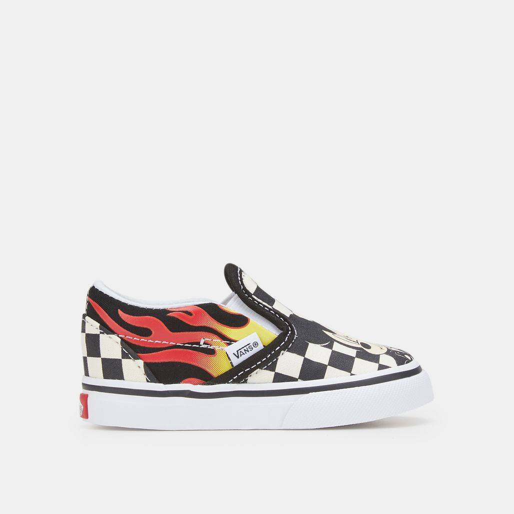 Vans Kids' x Disney Mickey Mouse Classic Slip-On Shoe