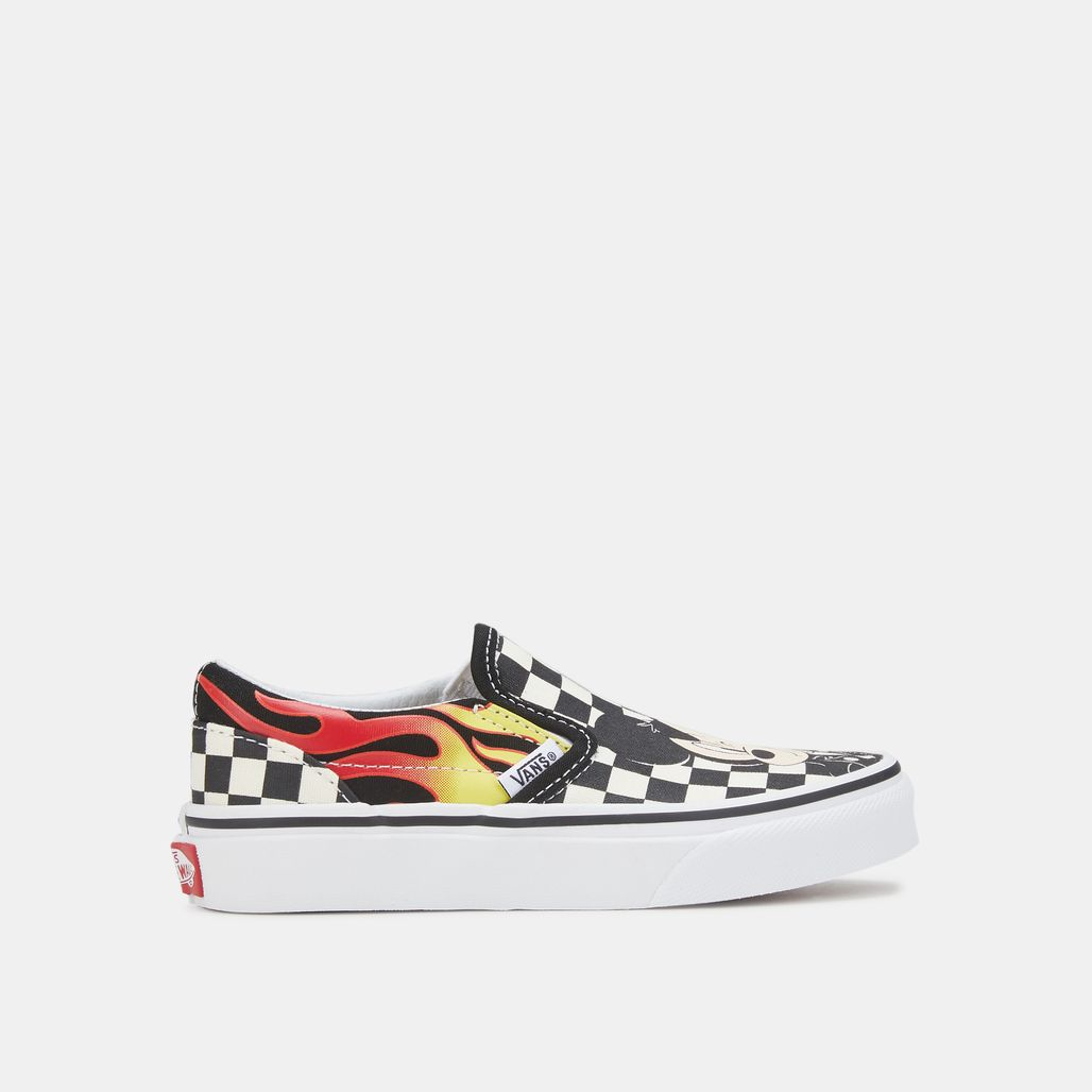 Vans Kids' x Disney Mickey Mouse Classic Slip-On Shoe