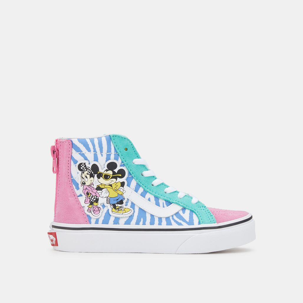 Vans Kids' x Disney Mickey Mouse SK8-Hi Zip Shoe