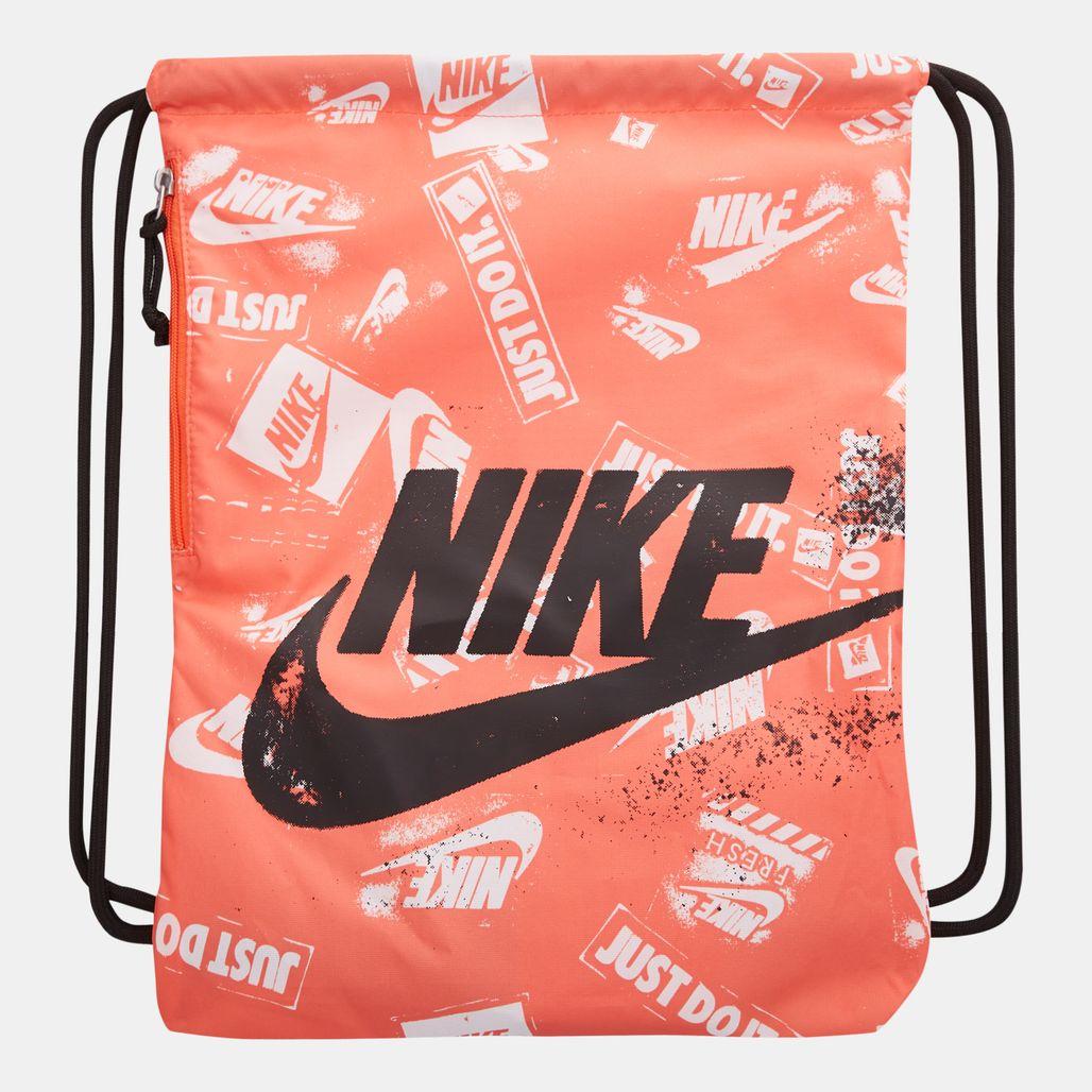 Nike Heritage Graphics Gymsack - Orange