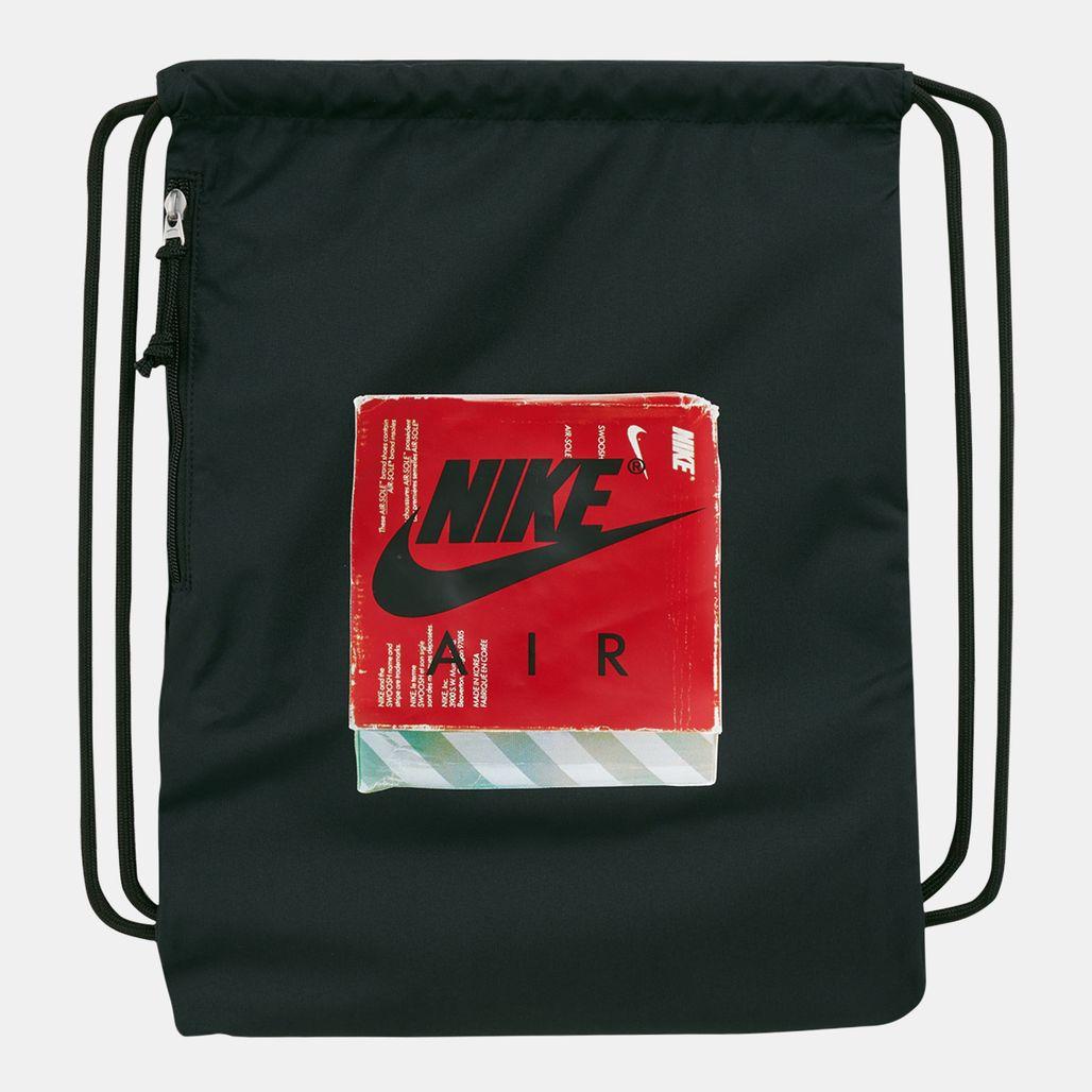 Nike Heritage Graphic Gymsack - Black