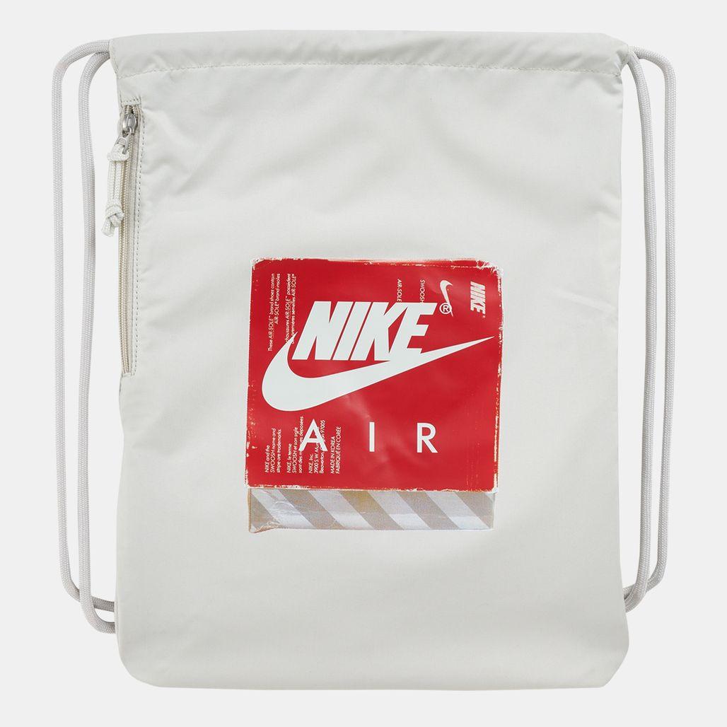 Nike Heritage Graphics Gymsack - White