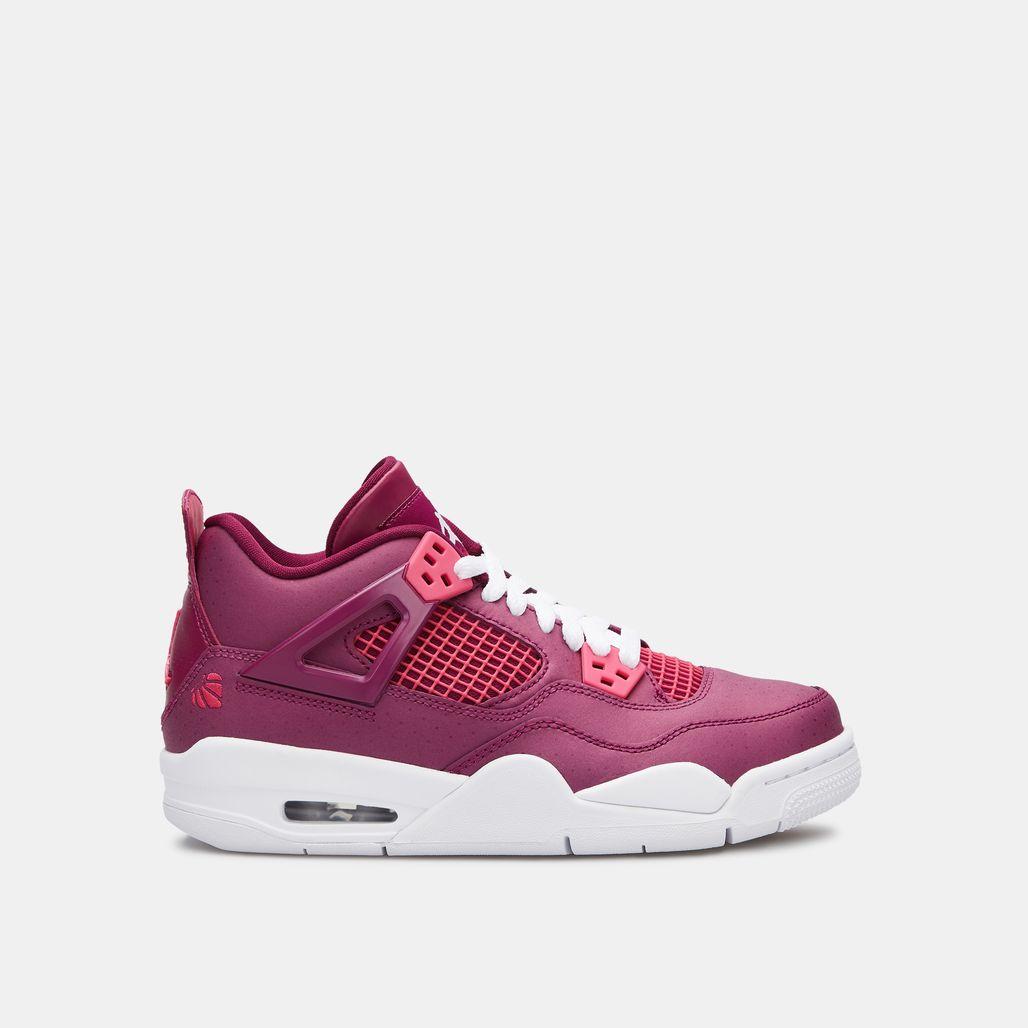 Jordan Kids' Air Jordan 4 Retro Shoe (OIder Shoes)