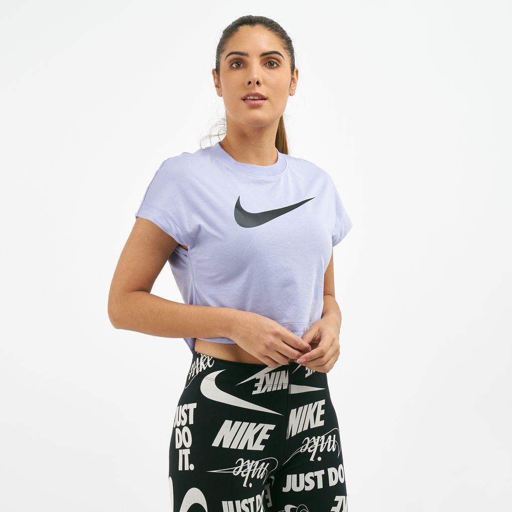 Nike Women's Sportswear Swoosh Crop Top