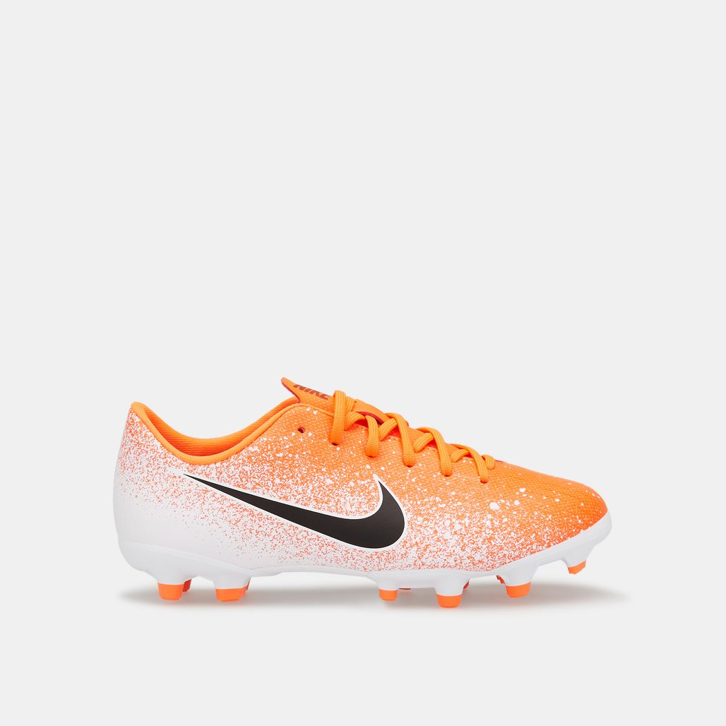 Nike Kids' Mercurial Vapor 12 Academy Multi-Ground Football Shoe (Older Kids)