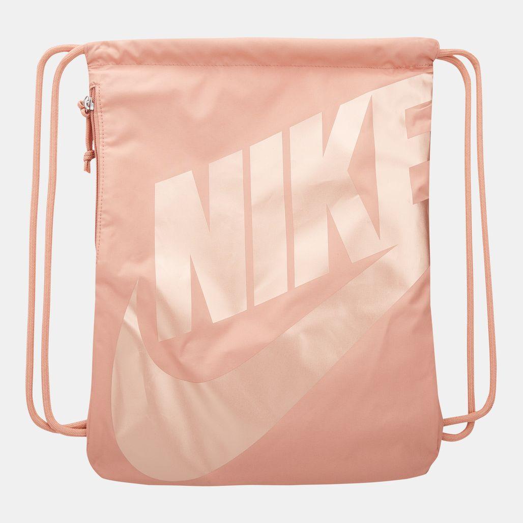 Nike Unisex Sportswear Heritage Gymsack - Pink