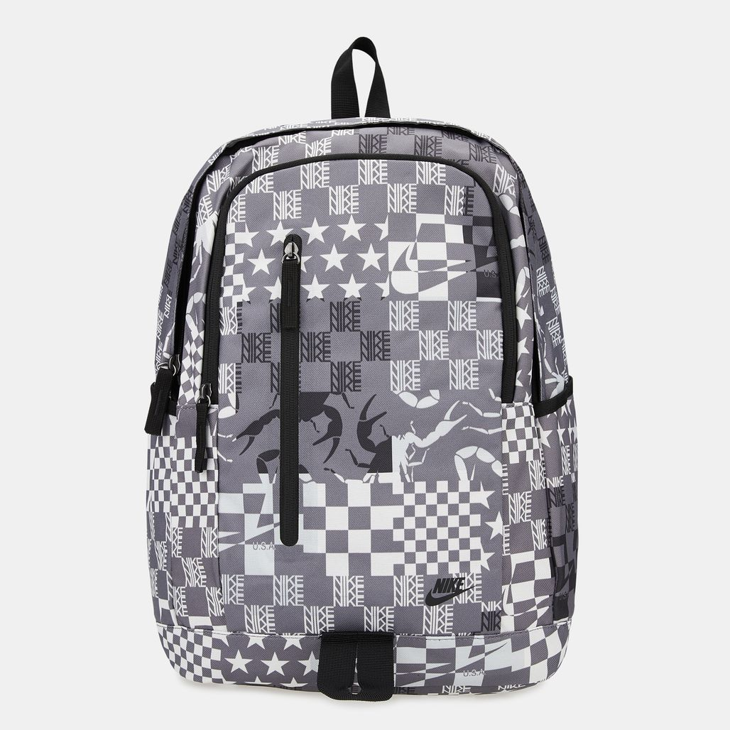 Nike All Access Soleday All Over Print Backpack - Grey