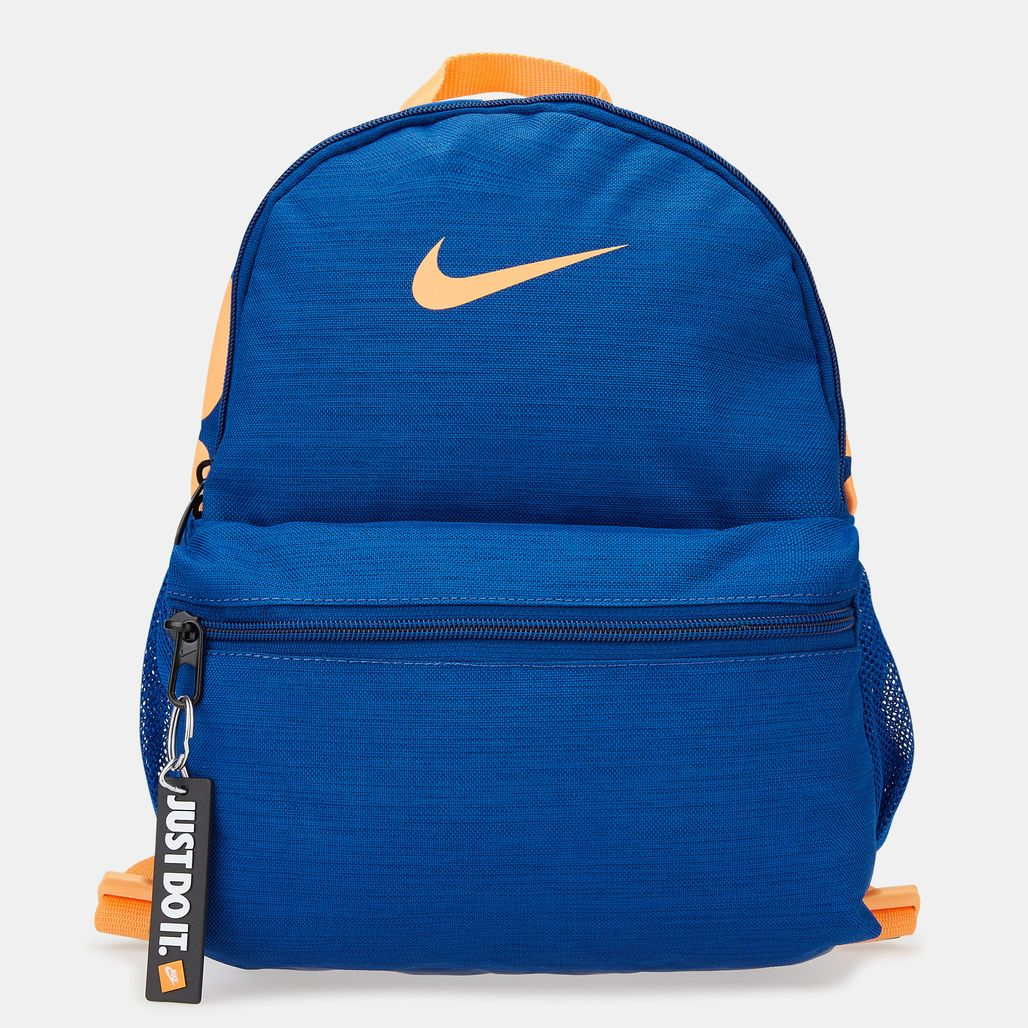 Nike Kids' Brasilia Just Do It Mini Backpack (Older Kids) - Blue