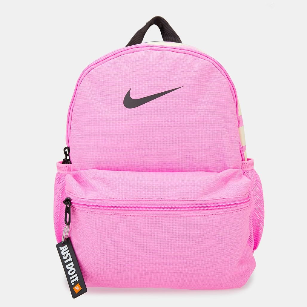 Nike Kids' Brasilia Just Do It Mini Backpack (Older Kids) - Pink
