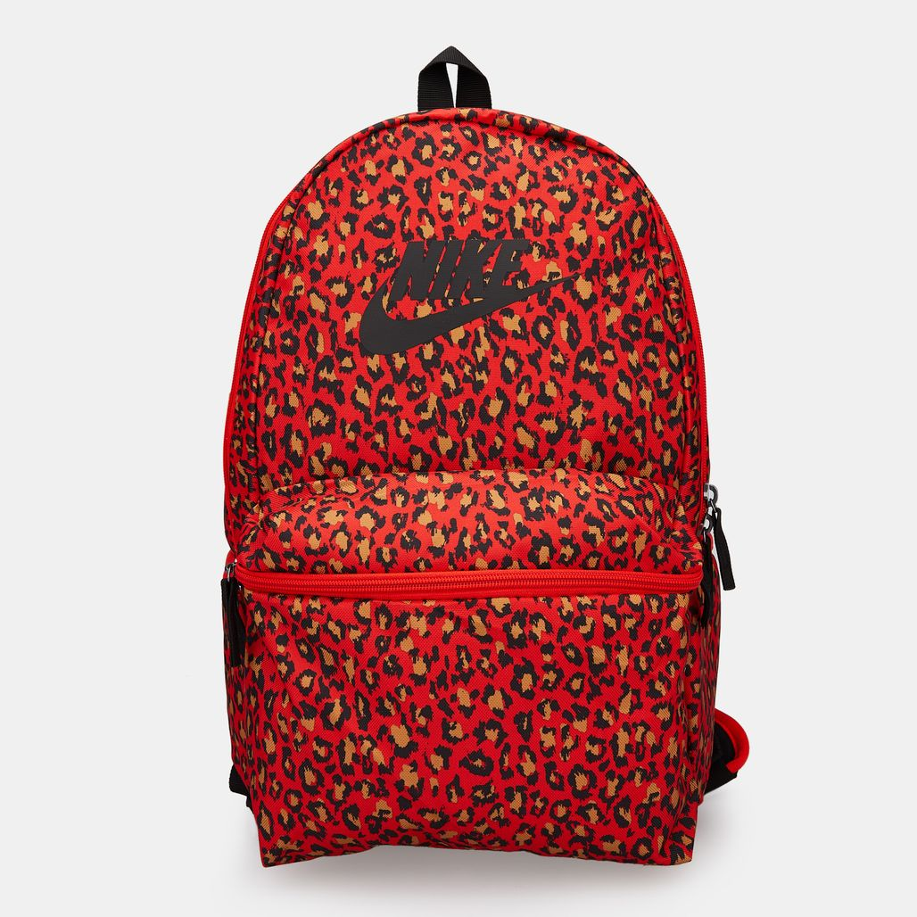 Nike Heritage Allover Print Backpack - Red