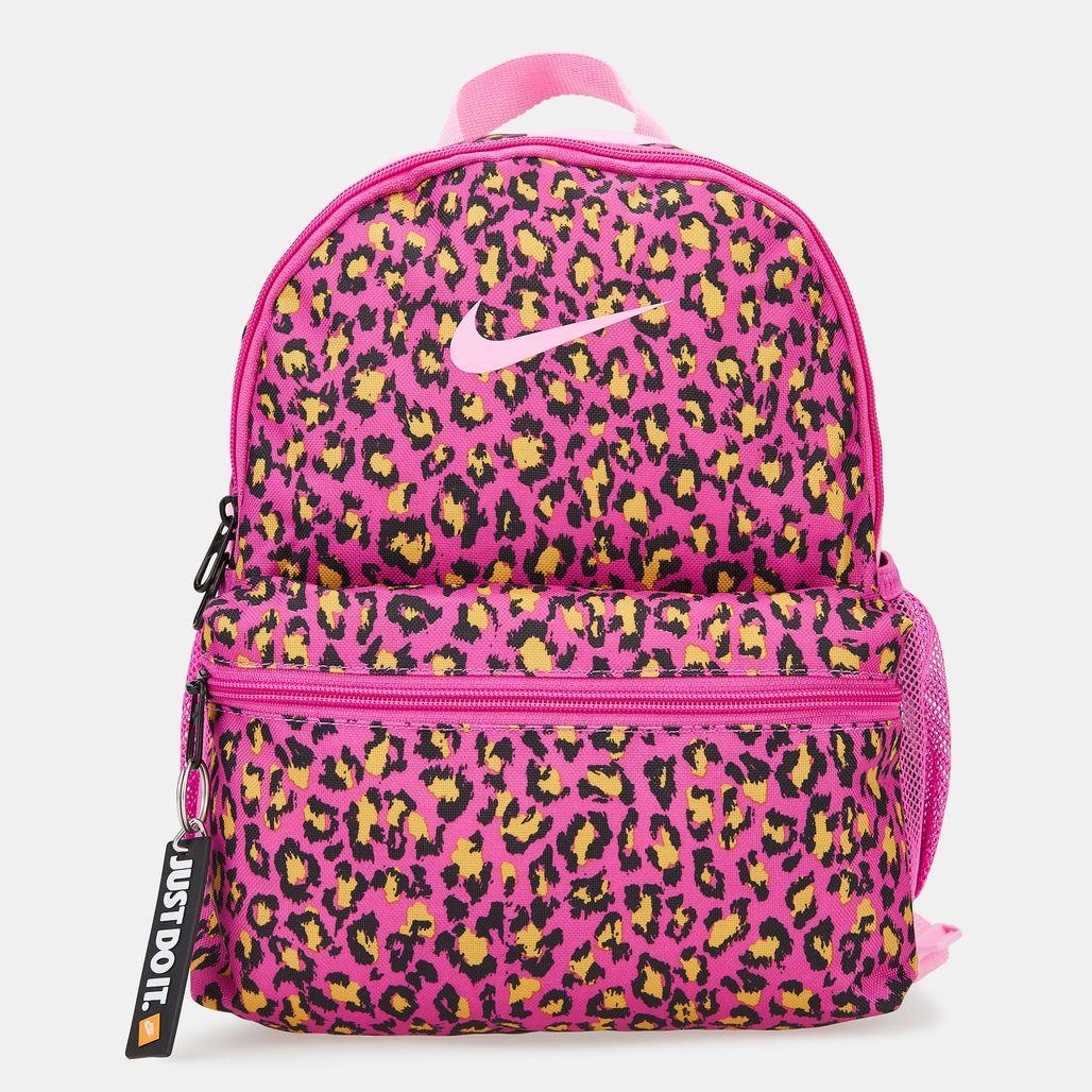Nike Kids' Brasilia Just Do It Mini Backpack (Older Kids) - Pink