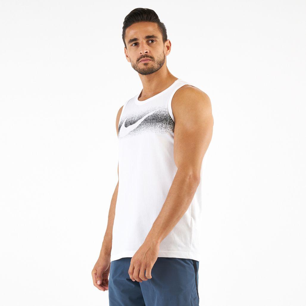 Nike Men's Dri-FIT Chalk Swoosh Tank Top