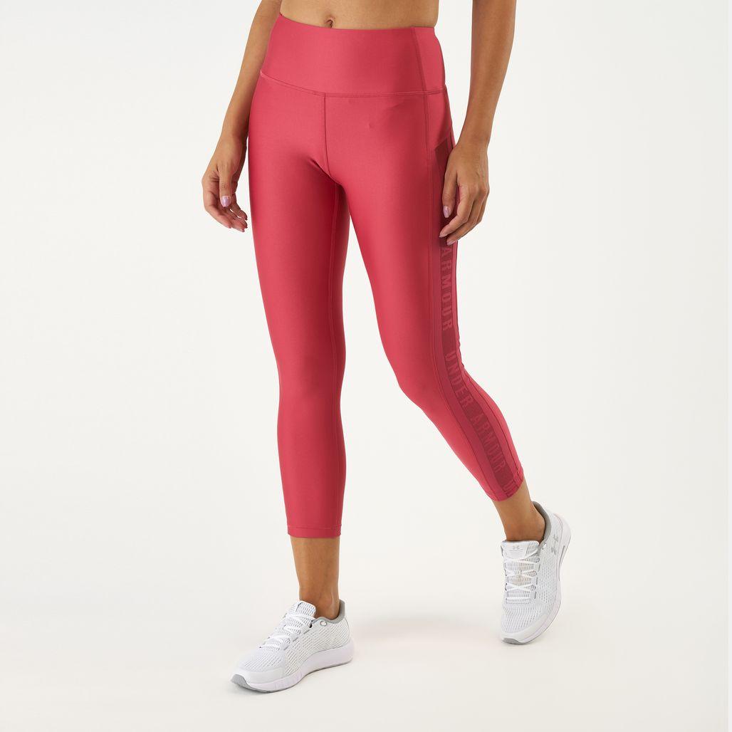 Under Armour Women's HeatGear® Armour Ankle Crop Branded Leggings