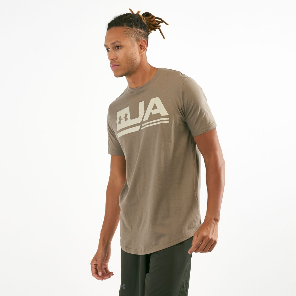 Under Armour Men's Sportstyle Dropped Hem T-Shirt