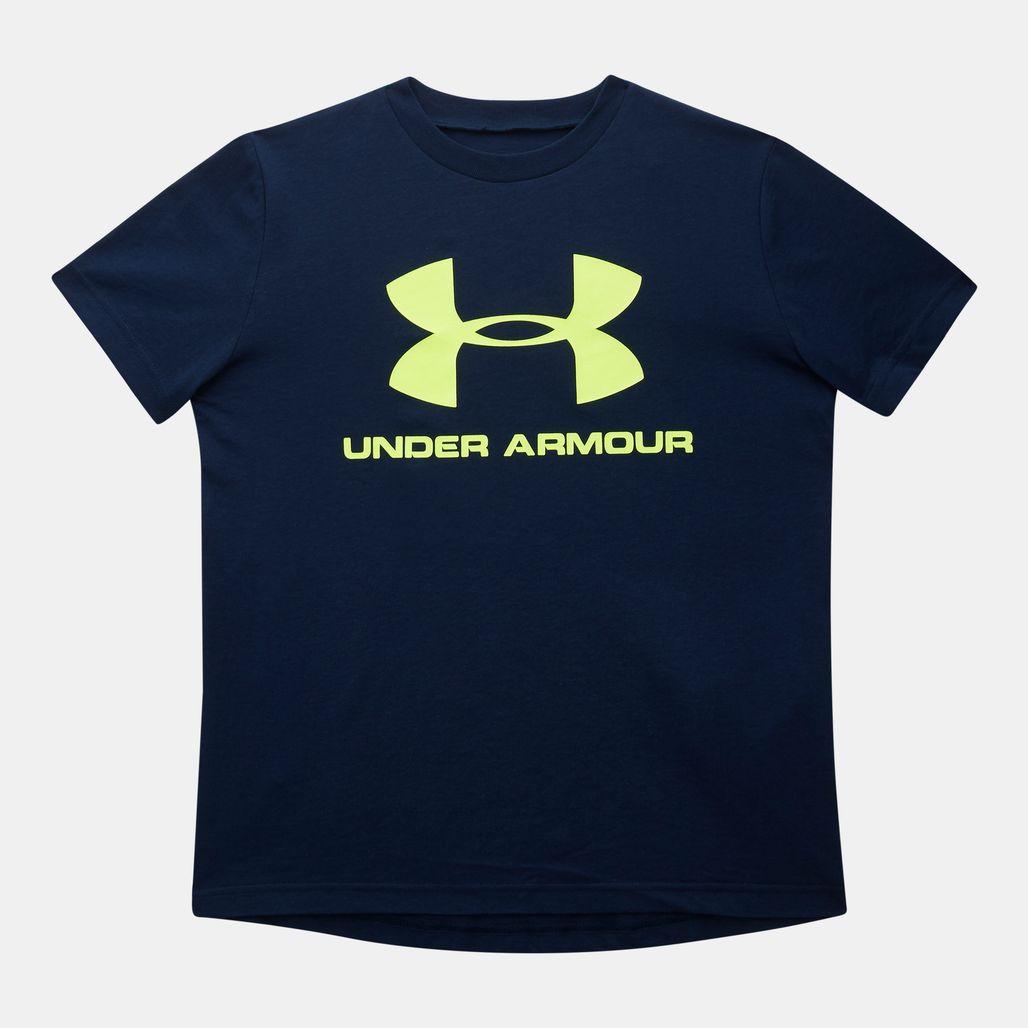 Under Armour Kids' Sportstyle Logo T-Shirt (Older Kids)