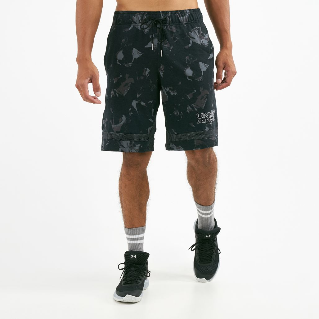 Under Armour Men's Baseline Jersey Basketball Shorts