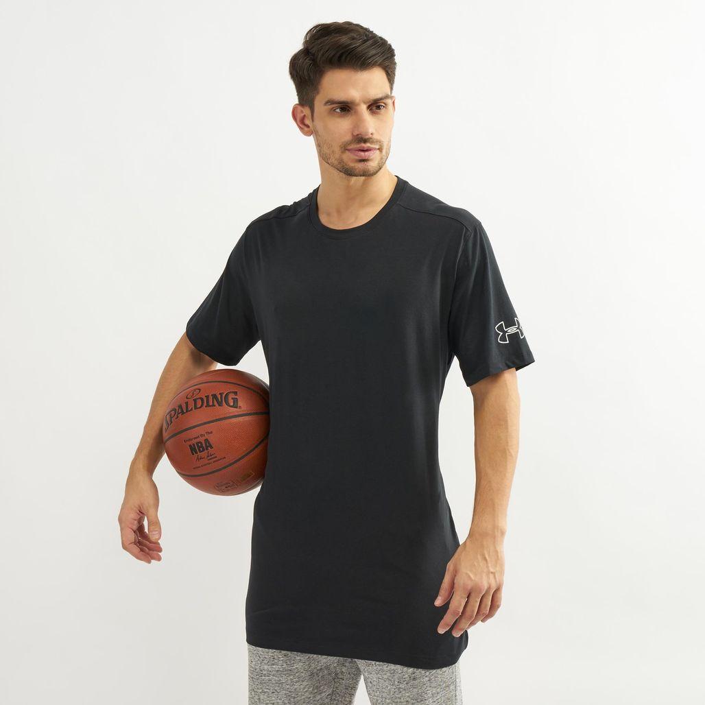 Under Armour Men's Baseline Long Line T-Shirt