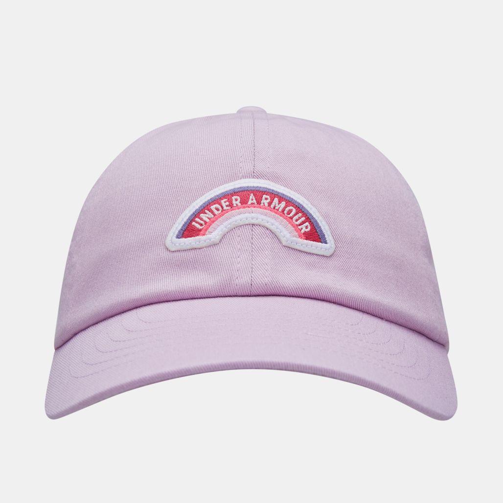 قبعة باتش ارمر من اندر ارمر للاطفال - بنفسجي