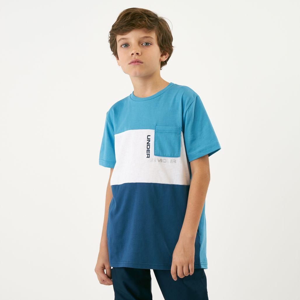 Under Armour Kids' Blocked Pocket T-Shirt (Older Kids)