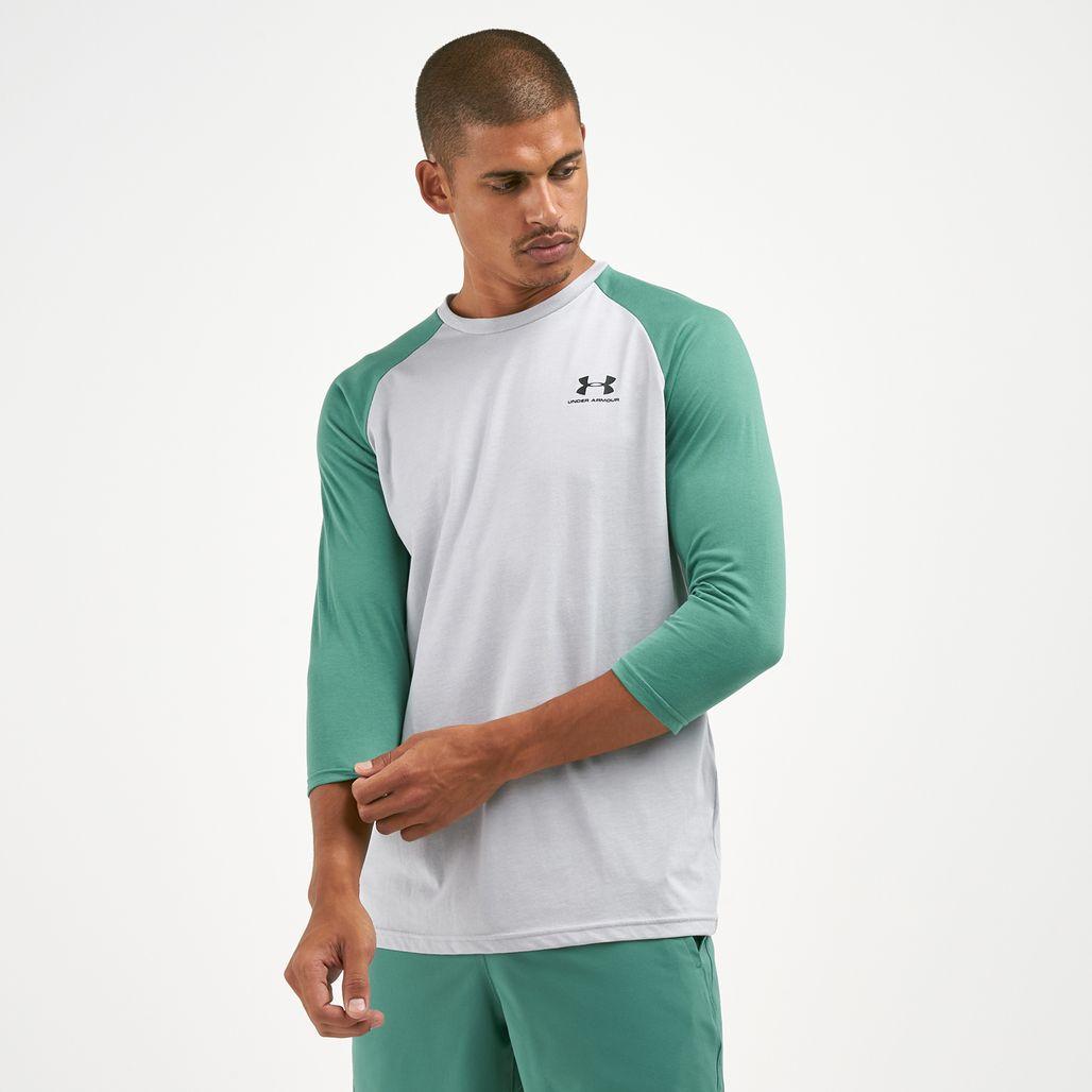 Under Armour Men's Sportstyle Left Chest 3/4 T-Shirt