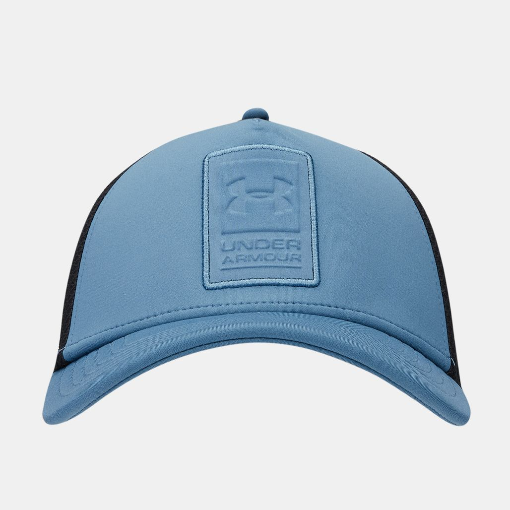 Under Armour Men's Sportstyle Elite Trucker Cap - Blue