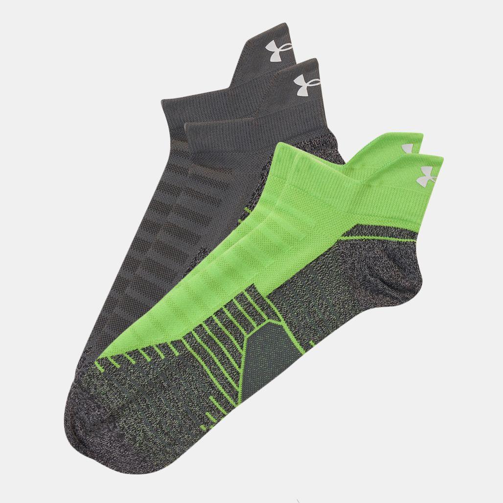 Under Armour Run No Show Tab Socks - 2 Pairs