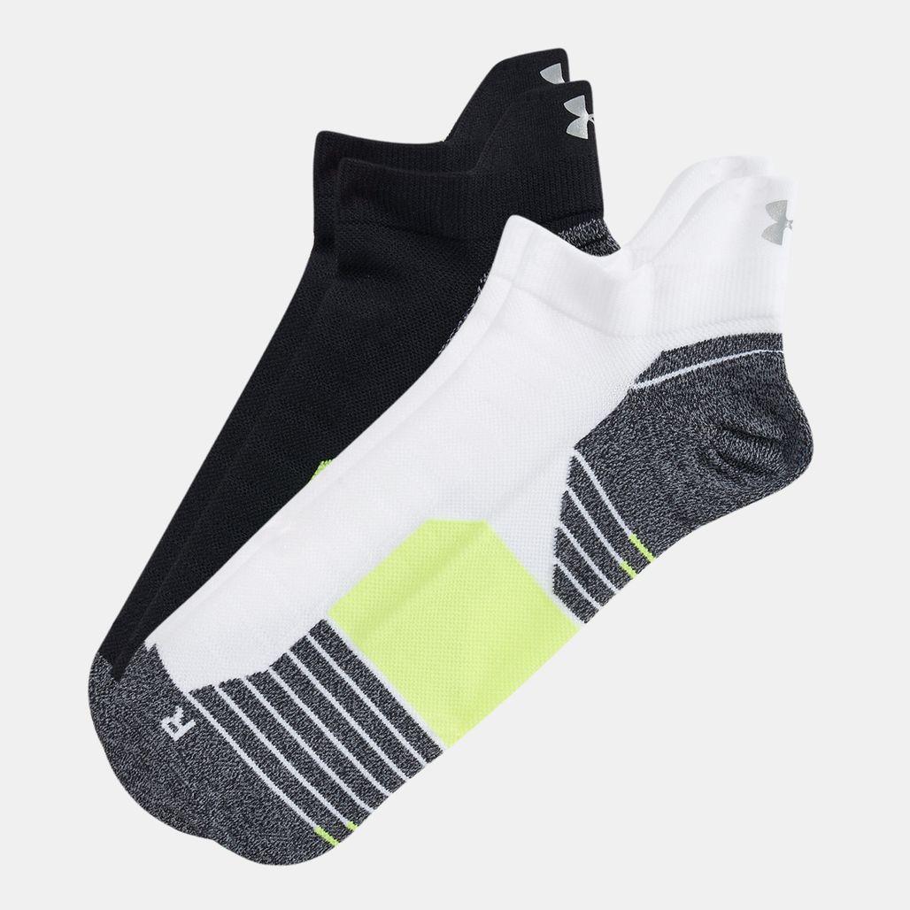 Under Armour No Show Tab Socks (2 Pairs)